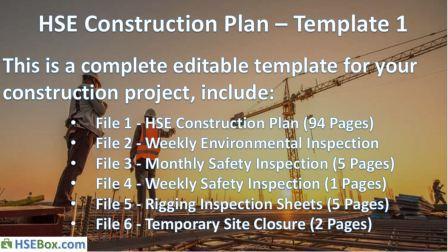 Complete HSE Construction Plan