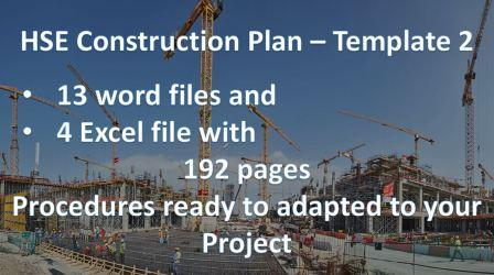 HSE Construction Plan (192 Pages) – Occupational safety and health
