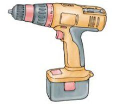 Safe use of powered hand drills