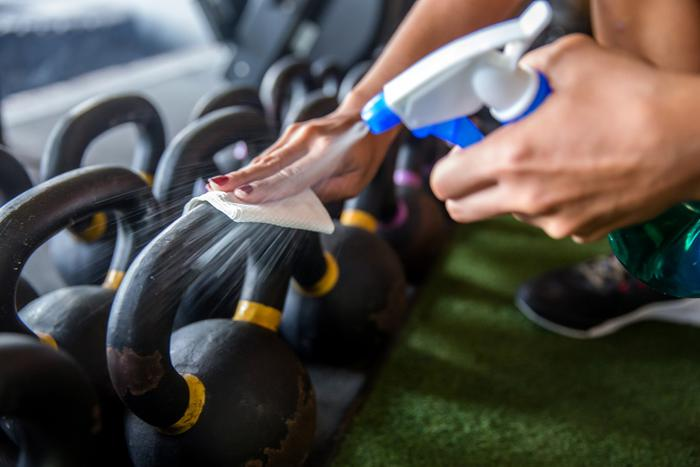 Gym equipment could be a hotspot for antibiotic-resistant bacteria